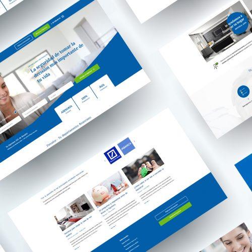 Diseño y Desarrollo web financiera